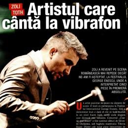 Story: Artistul care canta la vibrafon