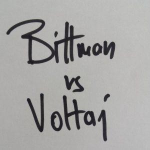 BITTMAN VS VOLTAJ