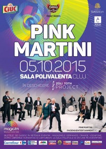 Afis Pink Martini & Zoli TOTH Project